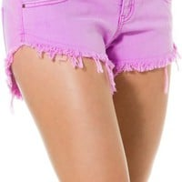 BILLABONG LANEWAY COLORED DENIM SHORT | Swell.com