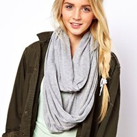 ASOS Plain Jersey Snood at asos.com