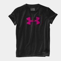 Girls' UA Big Logo Short Sleeve T-Shirt | 1230145 | Under Armour US