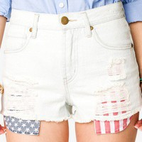 Americana Denim Cutoffs | FOREVER 21 - 2015035493
