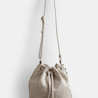 Surrender Studded Bucket Bag