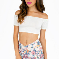 Basic Instincts Crop Top $19