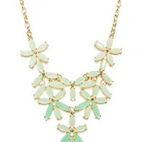 Linden Necklace in Mint - ShopSosie.com