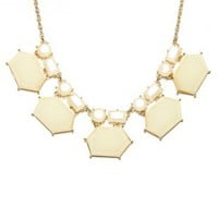 Rachelle Necklace in Ivory - ShopSosie.com
