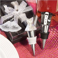 Bride & Groom Winter Stopper Wedding Favor Set, 1:Amazon:Kitchen & Dining
