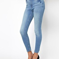 River Island Highwaist Super Skinny Jean at asos.com