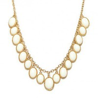 Lola Necklace in Ivory - ShopSosie.com