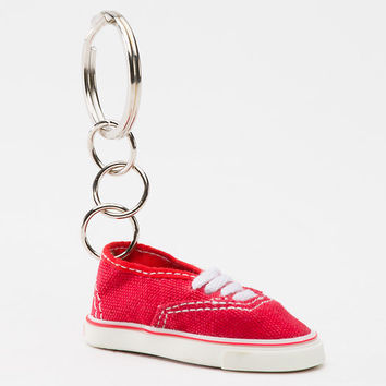 Red Authentic Keychain
