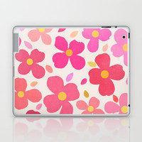 Dogwood Pink Laptop & iPad Skin by Garima Dhawan