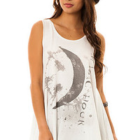 Free People Tank Slumber Party in White