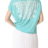 SUNDRY Destinations Tee | SHOPBOP