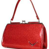 Red Sparkle Hot Rod Honey Purse