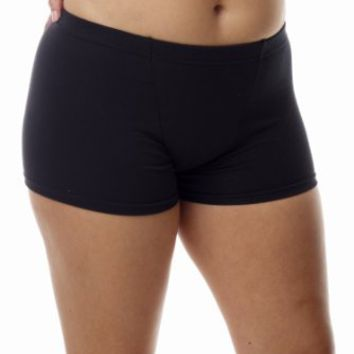 Amazon.com: Underworks Women's Cotton Spandex Ultra Light Compression Boxers 3-Pack: Clothing