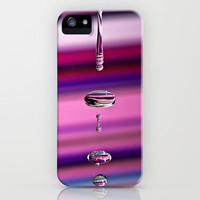 Rainbow Water iPhone & iPod Case by Alice Gosling