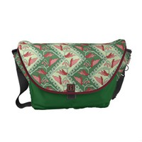 Ethnic Decorative Chevron Messenger Bag from Zazzle.com
