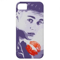 JB Kiss iPhone 5 Case from Zazzle.com