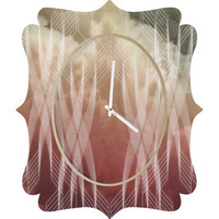 DENY Designs Home Accessories | Gabi Armaturam Dei Quatrefoil Clock