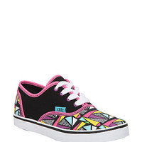 Cute To The Core Prime Black Multi Canvas Shoes | Hot Topic