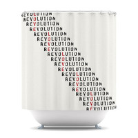 "Skye Zambrana ""Revolution"" Shower Curtain 