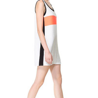 DRESS WITH CENTRAL STRIPE - Dresses - Woman | ZARA Slovenia