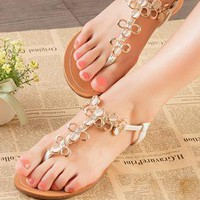 Sandy Flat  Sandals   from sniksa