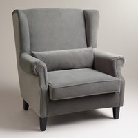 Charcoal Graham Chair-and-a-Half