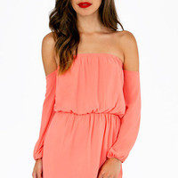 Show Me Shoulder Dress $33