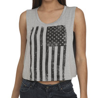 Vertical Flag Tank | Shop Americana at Wet Seal