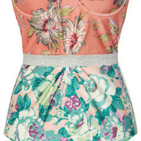 Zimmermann | Celestial floral-print underwired swimsuit