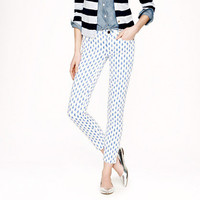 Toothpick jean in thistle print - pants - Women's tall - J.Crew