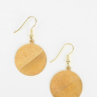 Urban Renewal Split Circle Earring