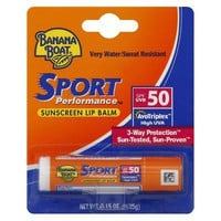 Banana Boat Sport Performance Lip Balm SPF 50
