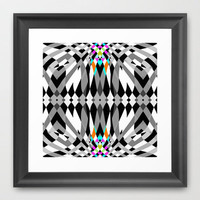Chic #2 Framed Art Print by Ornaart