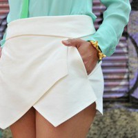 Ways to Wear our Origami Wrap Skort