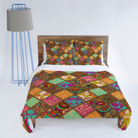 DENY Designs Home Accessories | Aimee St Hill Patchwork Paisley Orange Duvet Cover