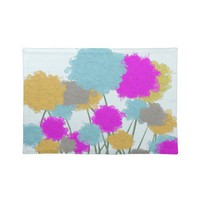 Splat painted flower scene Placemat from Zazzle.com