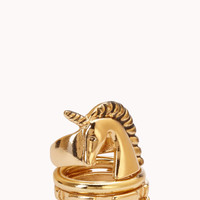 Whimsical Unicorn Ring Set