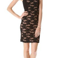 Rebecca Taylor Lace Strapless Dress | SHOPBOP