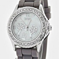 CRYSTAL BEZEL JELLY WATCH