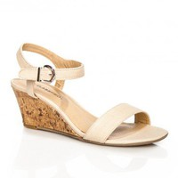 Mattie Sandal in Nude - ShopSosie.com