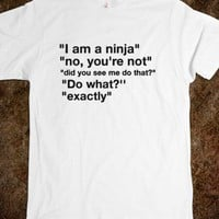 Funny ninja tee t shirt  - Its a hit - Skreened T-shirts, Organic Shirts, Hoodies, Kids Tees, Baby One-Pieces and Tote Bags