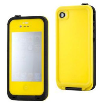 Amazon.com: GEARONIC Yellow Waterproof Shockproof Full Body Skin Case Cover Pouch for iPhone 4 4S 4G, Multi Purpose Protective Skin for water, shock, snow, dirt: Cell Phones & Accessories