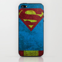 Superman iPhone & iPod Skin by Fries Frame