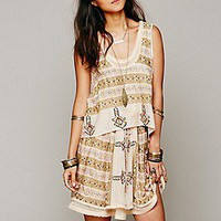 Free People  FP New Romantics Voodoo Mama Stripe 2fer Dress at Free People Clothing Boutique