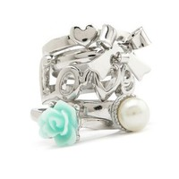 Love Stackable Ring Set: Charlotte Russe