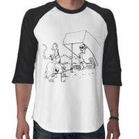 Alien Man Trap Tshirts from Zazzle.com