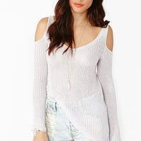 Cold Curves Knit - Lilac