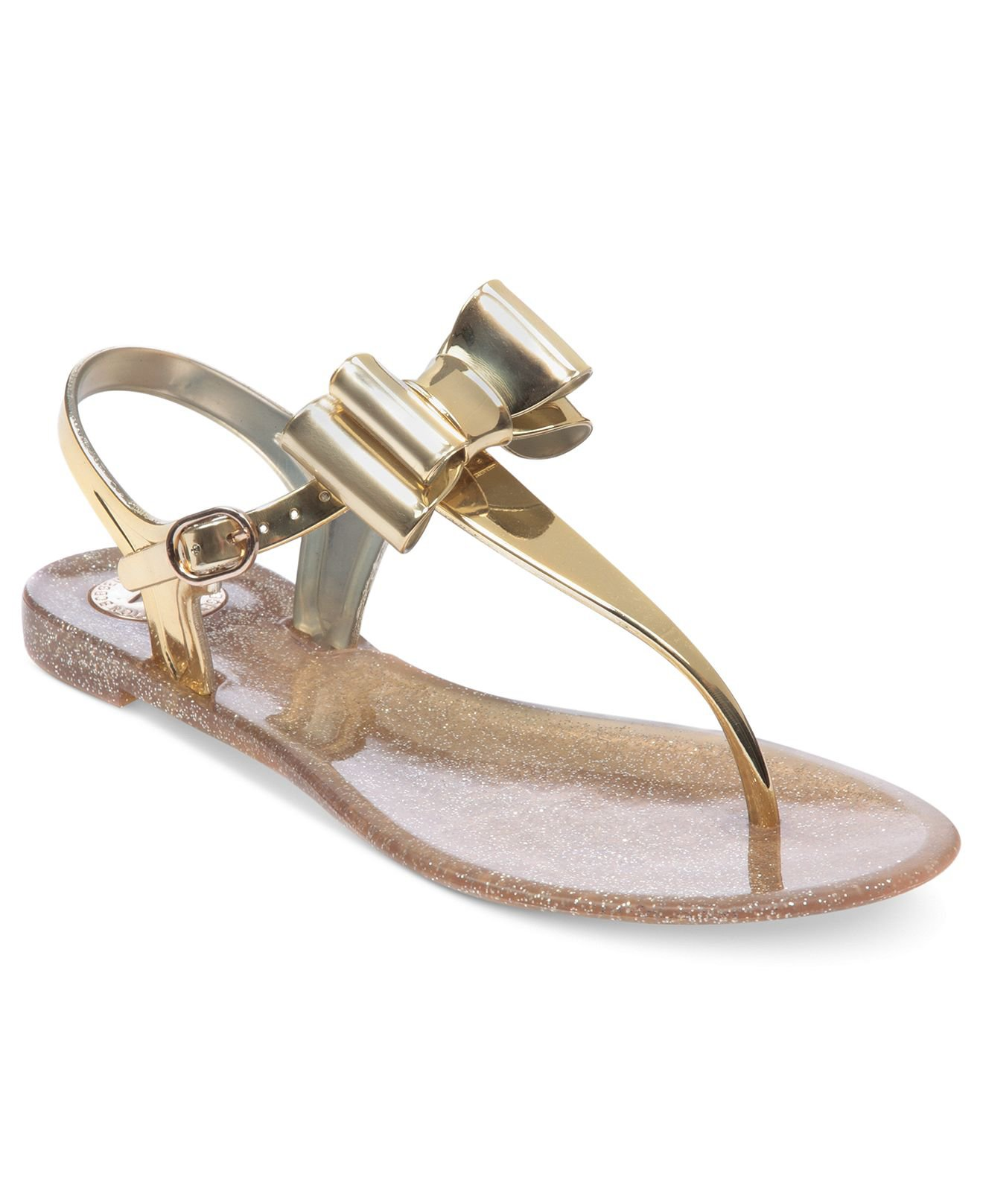 Bcbgeneration Shoes Demee Jelly Thong From Macys