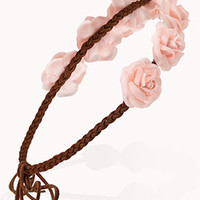 Braided Rosebud Headband