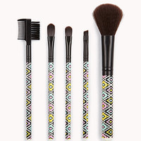 Southwestern Print Cosmetic Brush Set